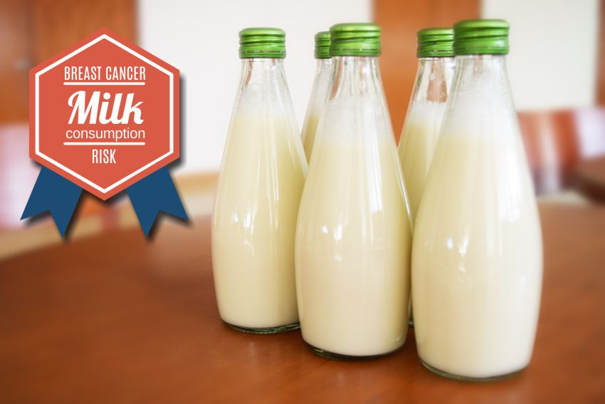 milk consumption, breast cancer risk, health tips